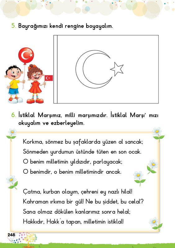 İstiklal Marşımızı okuma ve anlama çalışması