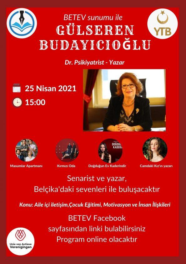 BETEV sunumu ile Gülseren Budayıcıoğlu