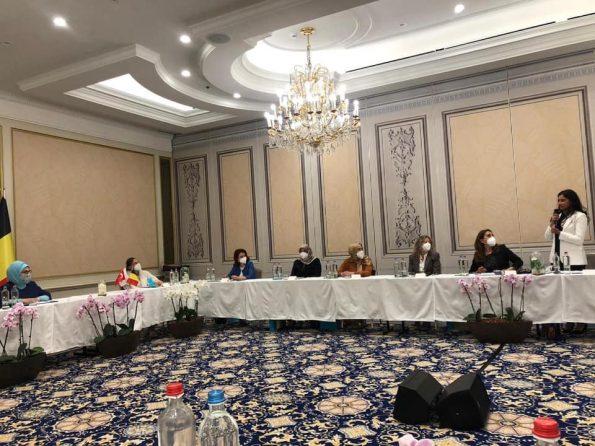 STK temsilcileriyle toplantı