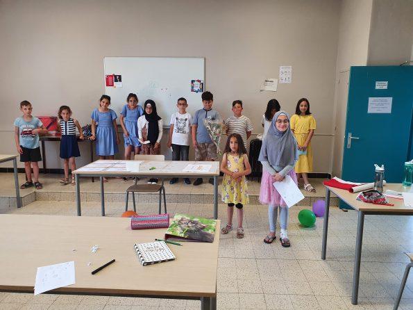 T.C Brüksel Eğitim Müşaviri sayın Neslihan Karataş Durmuş Beringen Türkçe Kültür dersimize ziyaret etti