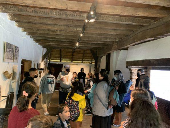Houthalen Türkçe dersi öğrenci ve velileri Bokrijk tarihi müzeyi gezdi